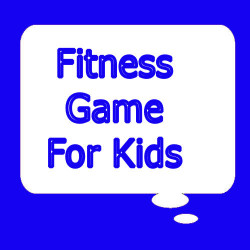 Fitness game for kids