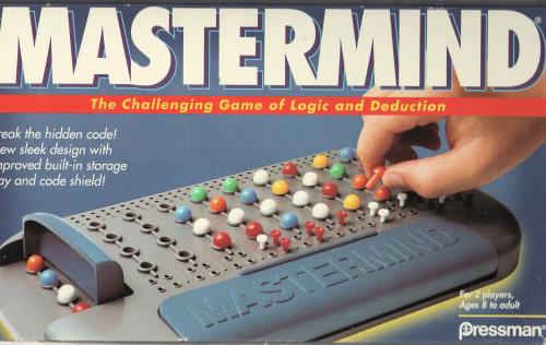 Logic games for kids, Mastermind