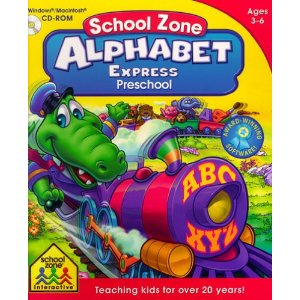 educational computer games, School Zone Alphabet express