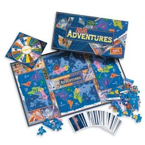Geography board games Atlas Adventures