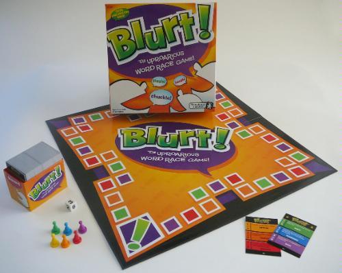Children word games, Blurt