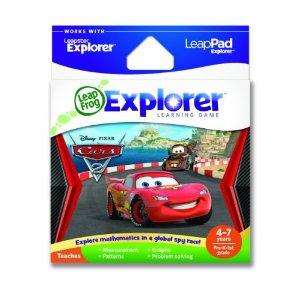 leapfrog leappad games, cars 2
