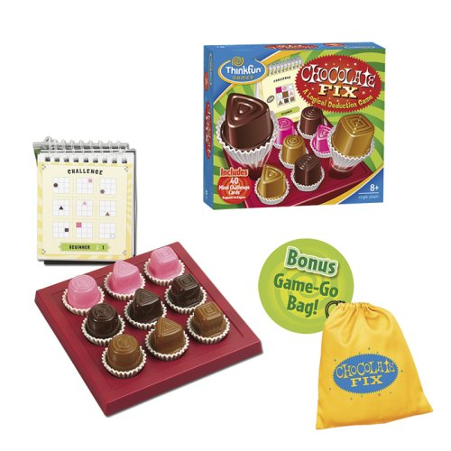 Logic games for kids, chocolate fix