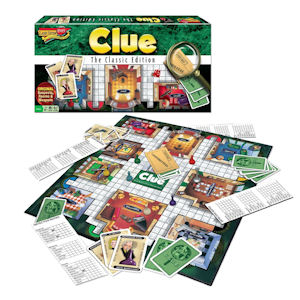 detective game, clu