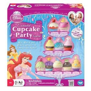 Fun indoor party games, disney princess cupcake party game