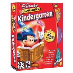 educational computer games, Disney learning Kindergarten Bundle