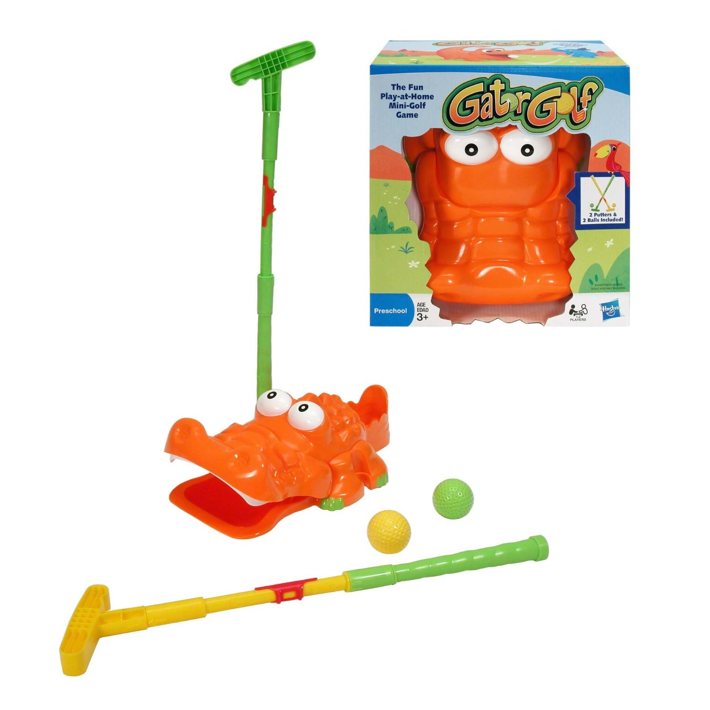 Fun indoor party games, Gator golf