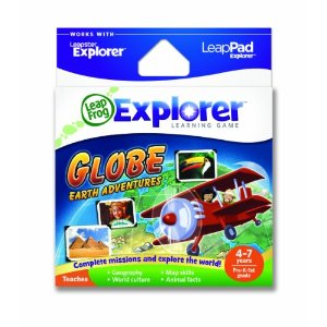 leapfrog leappad games, globe adventures