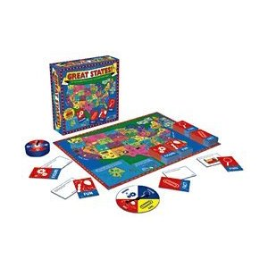 Geography board games Great States