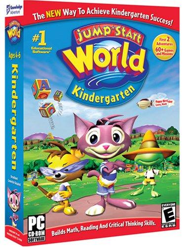 educational computer games, Jumpstart world kindergarten