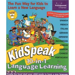 Kidspeak 10- 1 language learning