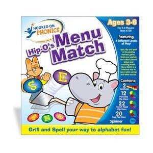 children word games Menu Match