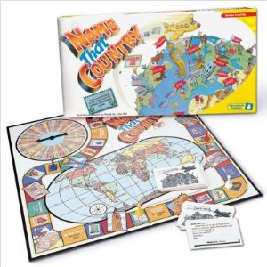 Geography board games name that country