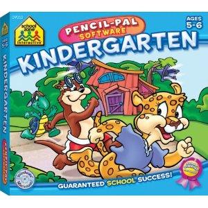 educational computer games, pencil pal kindergarten