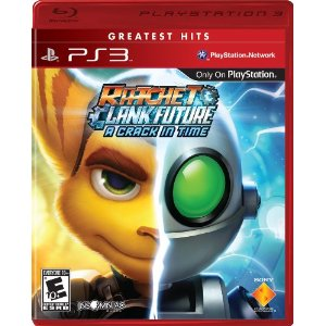 best playstation3 games, ratchet and clank future