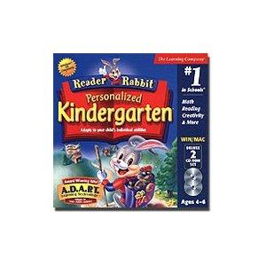 educational computer games, reader rabbit kindergarten