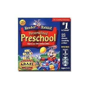 educational computer games, reader rabbit preschool