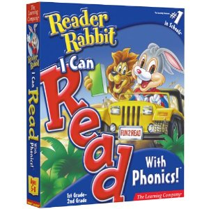 reader rabbit i can read phonics