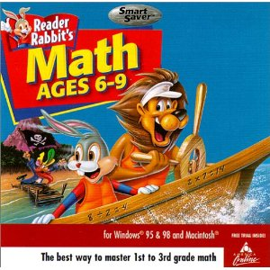 reader rabbit math 6-9