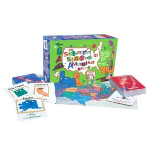 Geography board games Scrambled States