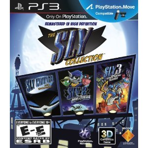 best playstation3 games, the sly collection