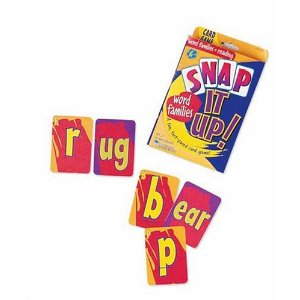 Kids Word Games Snap it up! word families