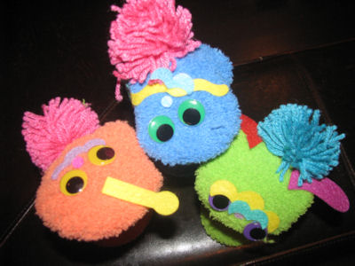 creative sock puppets