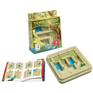 thinking games for kids, temple trap