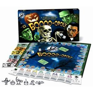 Halloween games for children, boo-opoly