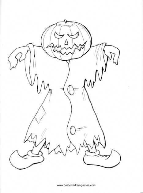 Free Printable Halloween Coloring Pages For You.
