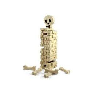 Halloween games for children, stack the bones